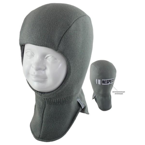 Шапка-шлем детская SELFIE SHLm0 RESPECT 420496 ACR-SHH (на хлопковой подкладке+SHELTER)  - Фото