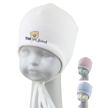 Шапка детская SELFIE CZmd FRIENDS BABY 221523 H2 (двойной трикотаж) U - Фото