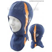 Шапка-шлем детская AGBO 221 3319 EMON (на подкладке+мембрана) - Фото