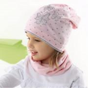 Комплект детский AJS 221 42-074 (одинарный трикотаж+снуд двойной трикотаж) [52-54] - Фото