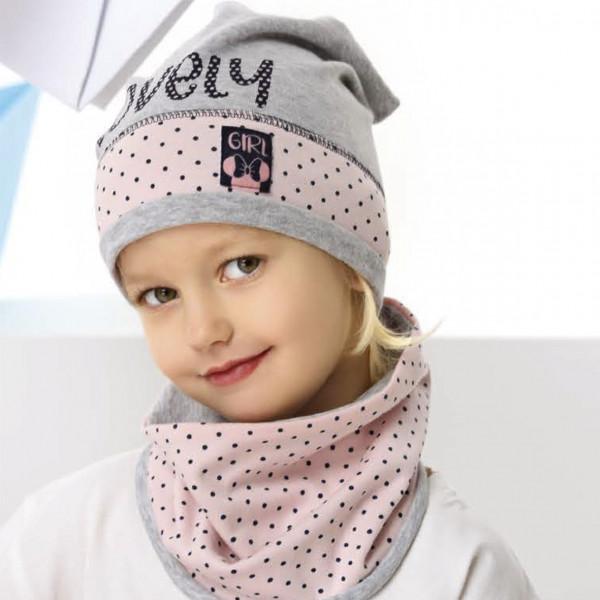 Комплект детский AJS 221 42-083 (одинарный трикотаж+снуд двойной трикотаж) [48-50] - Фото