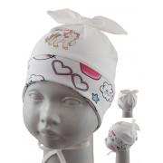 Шапка детская SELFIE CZd PONKA BABY 221578 H1 (одинарный трикотаж) U - Фото