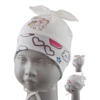 Шапка детская SELFIE CZd PONKA BABY 221578 H1 (одинарный трикотаж) U