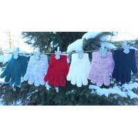 Перчатки детские MARGOT BIS 421 ZEN GIRL (одинарные)