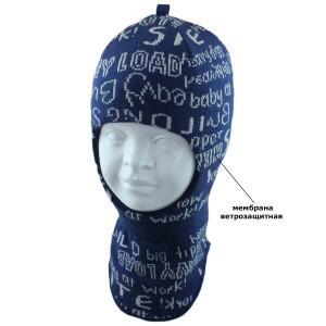 Шапка-шлем детская SELFIE SHLm 0 PAPER 419316 ACR-SHH (на хлопковой подкладке+SHELTER)  - Фото