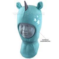 Шапка-шлем детская AGBO 421 4755 ROZA (на хлопковой подкладке+утеп.SUPERWARM)