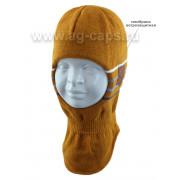 Шапка-шлем детская AGBO 421 3305 JEMEN (на подкладке) - Фото